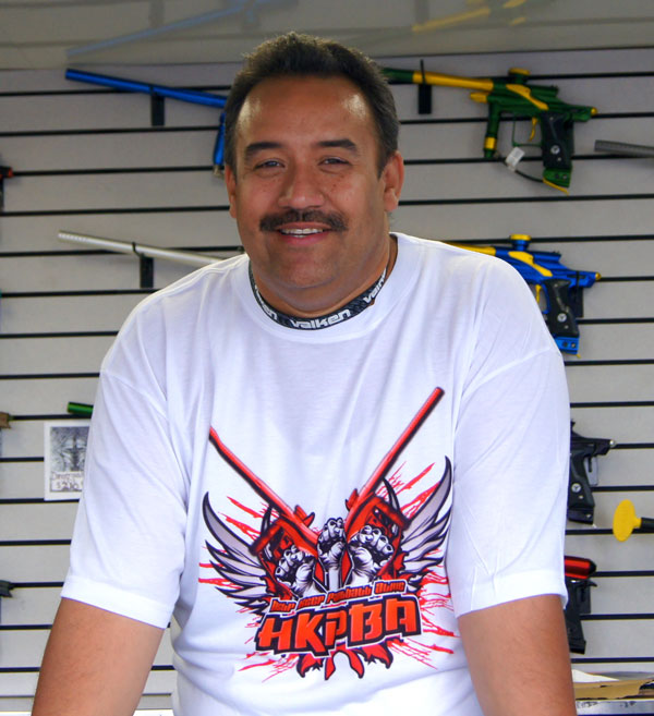 Mark Pagan of Help Keep Paintball Alive