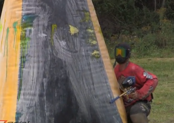 New Jersey Jesters Practice for 2011 PSP World Cup – Raw Paintball Footage