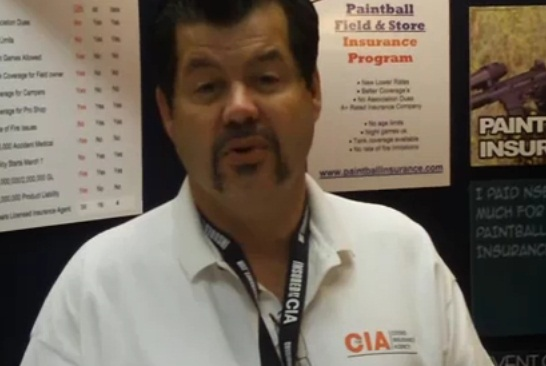 Larry Cossio, The CIA (Cossio Insurance Agency) at the Paintball Extravaganza 2009