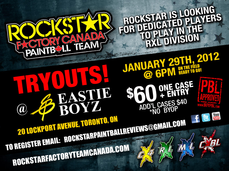 Rockstar Factory Canada Tryouts!