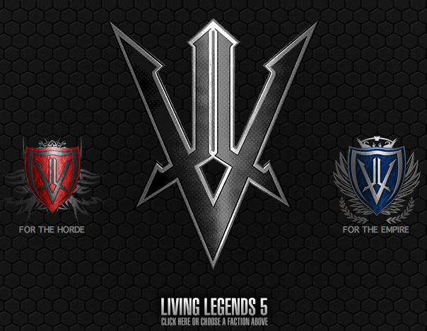 LIVING LEGENDS 5: The Dark Age – New Website Launched!