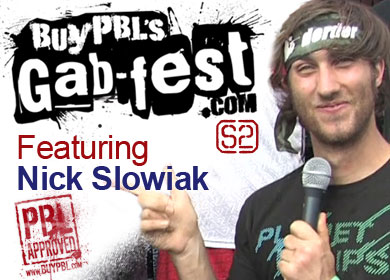 Gab-fest S2 Episode 3 – Nick Slowiak