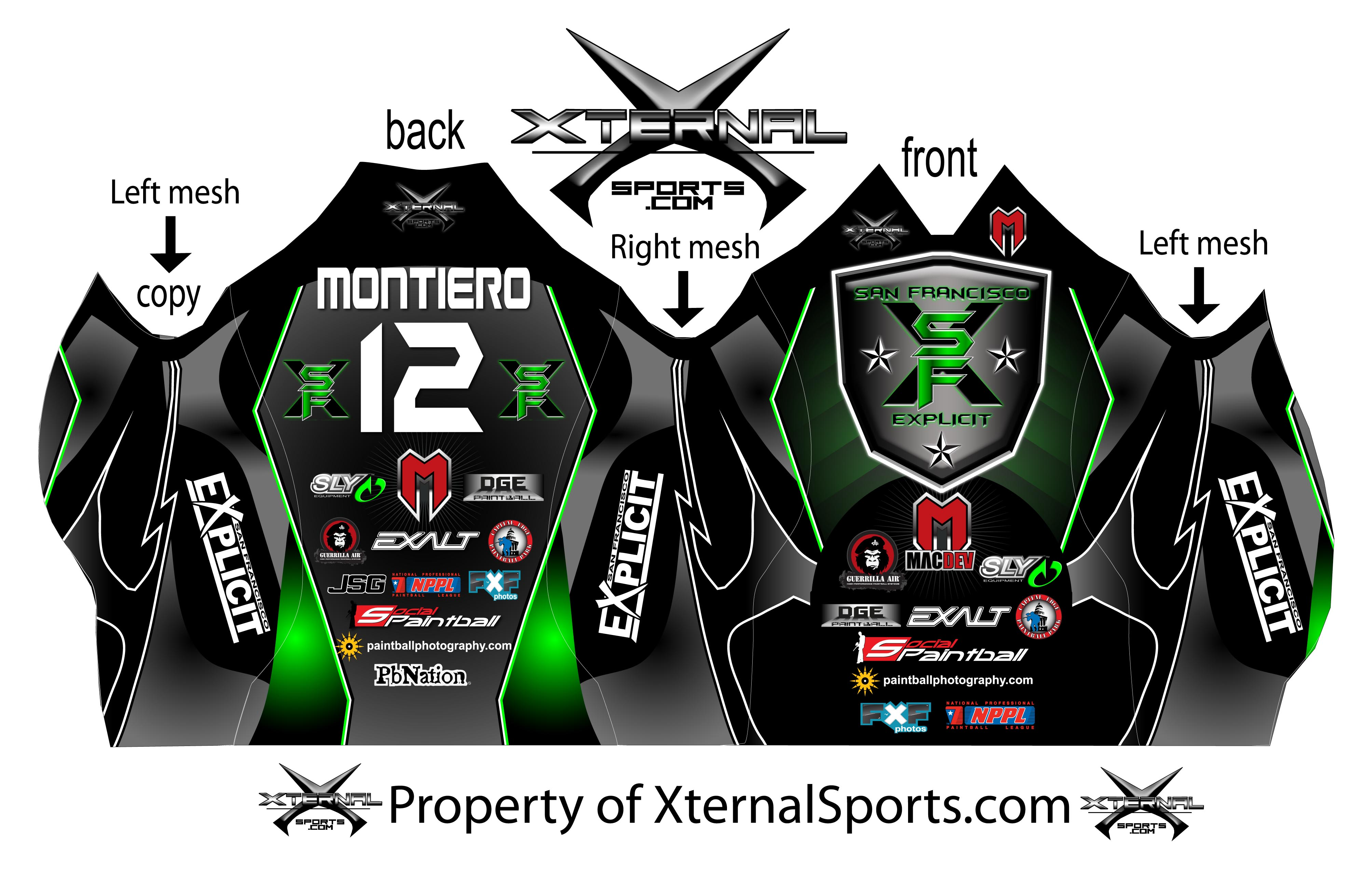 Exclusive: 2012 San Francisco Explicit Paintball Jersey Released