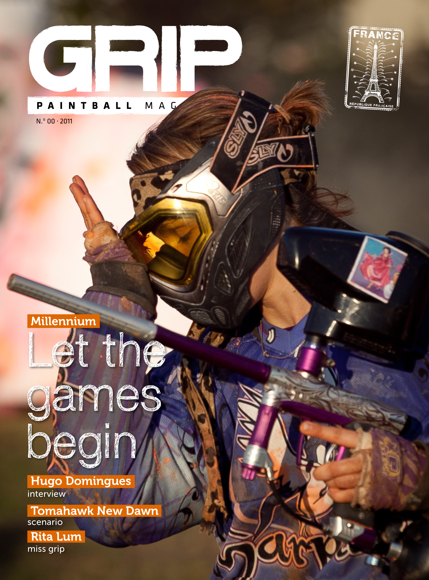 GRIP Paintball Magazine