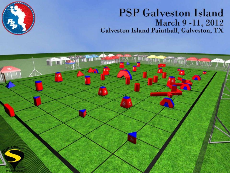 2012 PSP Galveston Island Field Layout Released
