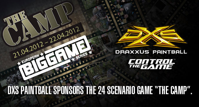 "DXS Paintball Sponsors the 24 Scenario Game ""The Camp"""