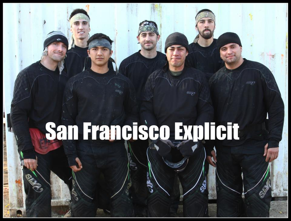San Francisco Explicit 2012 NPPL Huntington Beach Roster