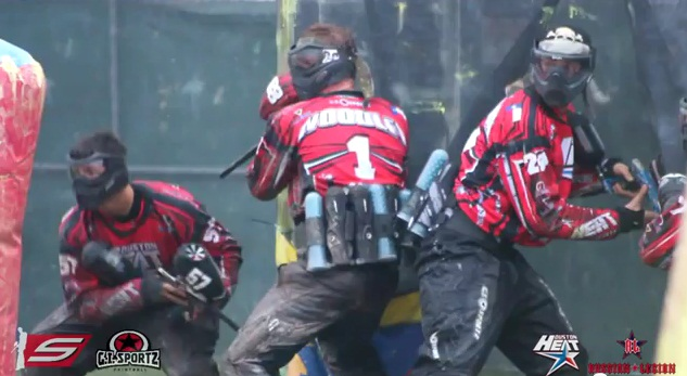 Paintball Rivalry: Houston Heat vs. Moscow Red Legion – 2012 PSP Galveston Island