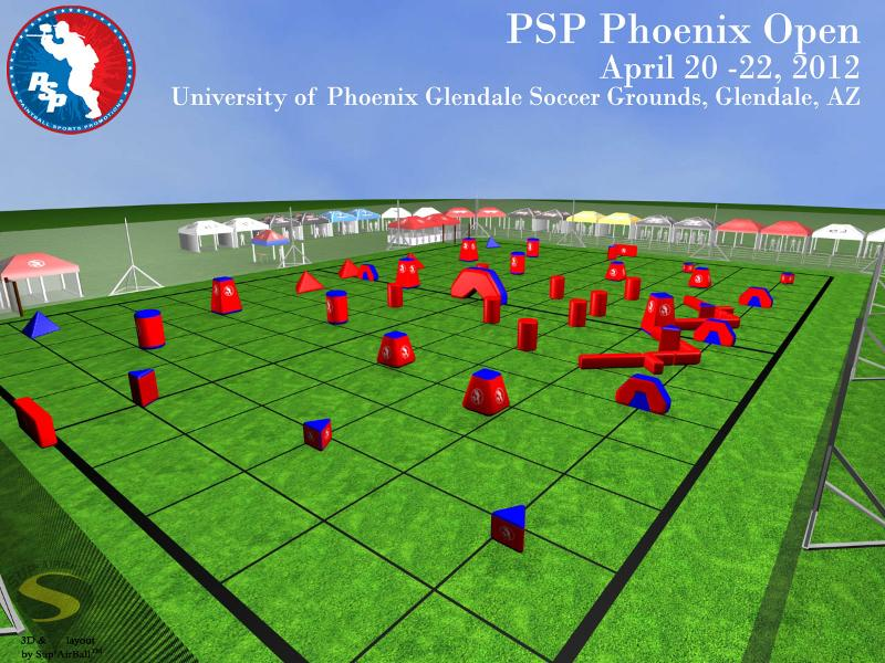 2012 PSP Phoenix Open Field Layout to Be the Same as Galveston Island
