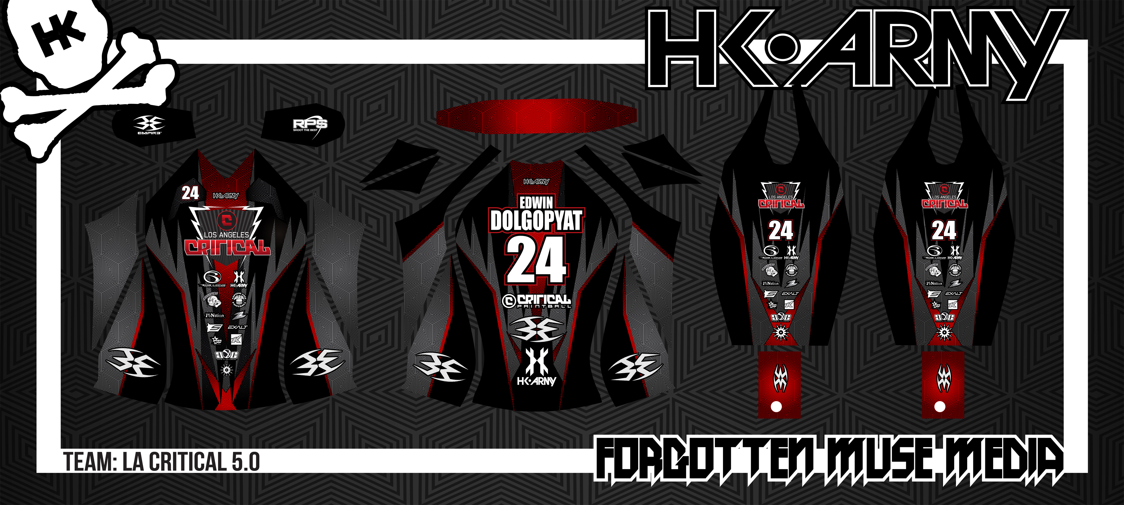 Exclusive: New 2012 Los Angeles Critical Jerseys by HK Army Released