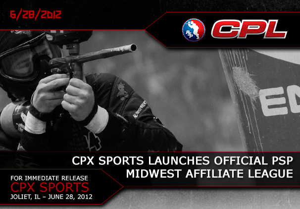 CPX Sports Announces the CPL – Central Paintball League