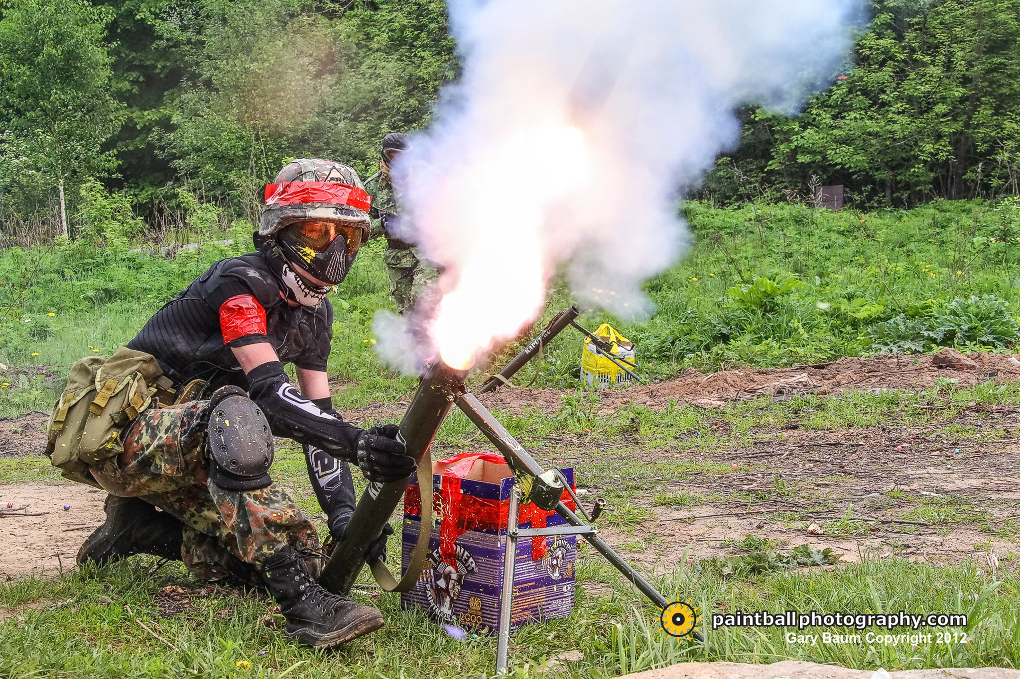 Big Paintball Maneuvers: Battle of Borodino, Largest Single-Day Scenario Event in Paintball