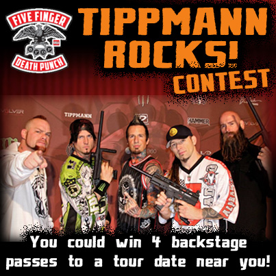 Tippmann Rocks! Promotion Reaches Outside of Paintball Industry