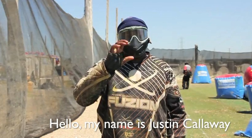 "Justin ""Wormy"" Callaway – Deaf Paintball Player – Silent Killers and Fuzion"