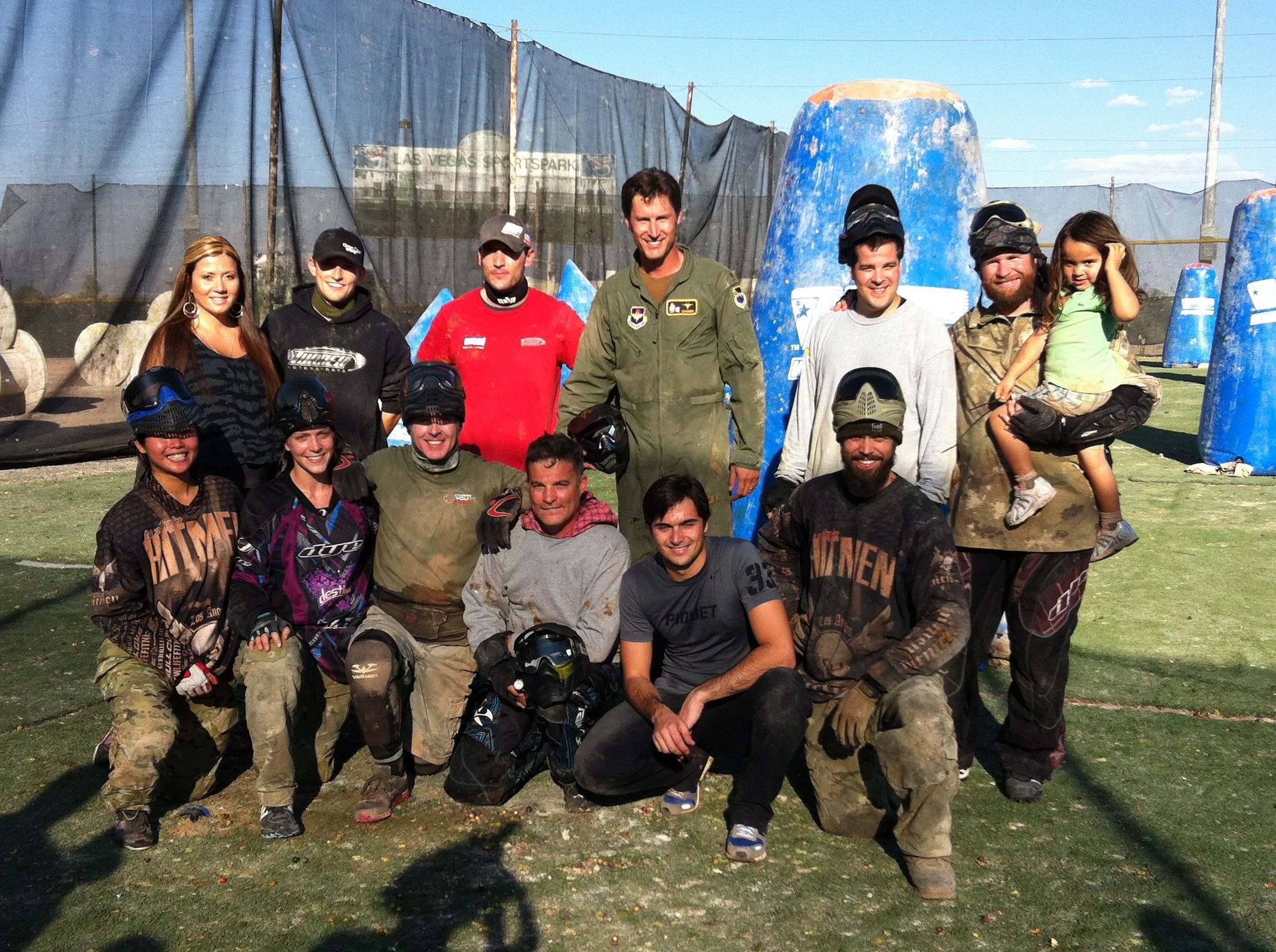 Recent NASCAR Camping World Truck Series Winner, Nelson Piquet, Jr, Plays Paintball with Greg Hastings & Friends