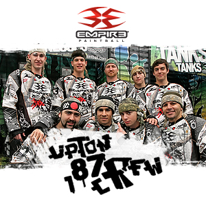 Empire Paintball Continues Sponsorship with upTon 187 cRew for 2013