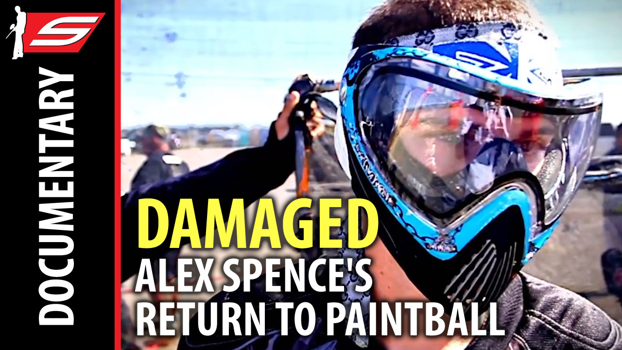 Damaged: Alex Spence's Return to Paintball – Short Film