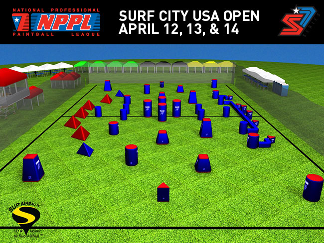 2013 NPPL Huntington Beach Surf City Open Field Layout Released