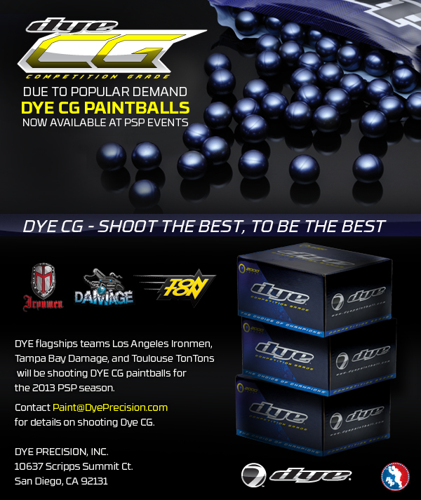 Dye Precision Now an Official Paint Sponsor of PSP