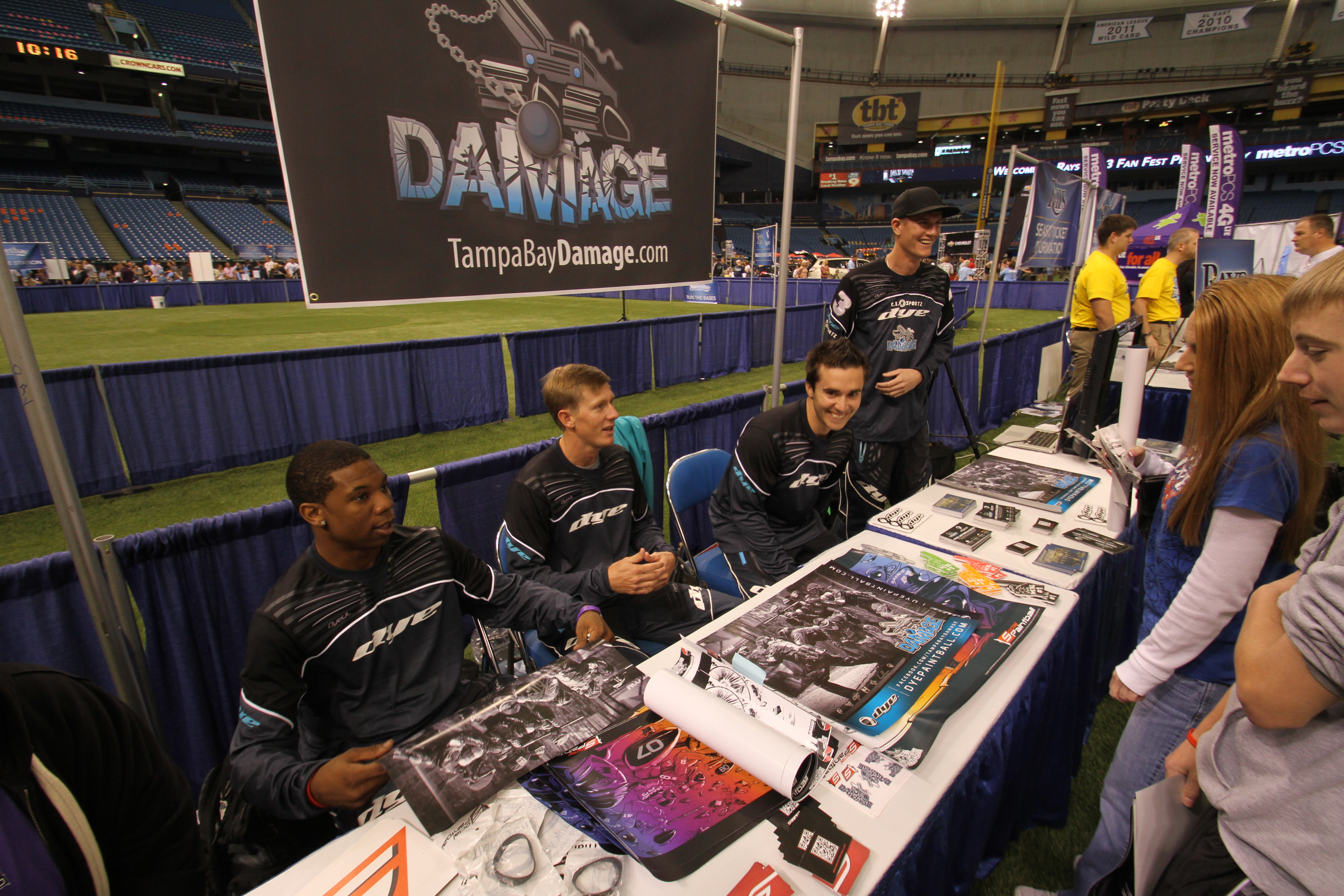 Tampa Bay Rays and Damage Fan Fest was a Success (Video)