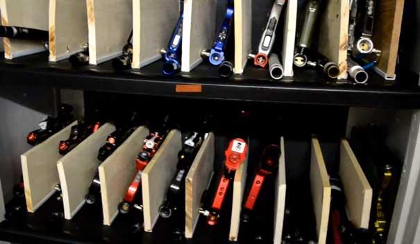 Custom Built Paintball Gun Storage Closet Holds 50 Guns