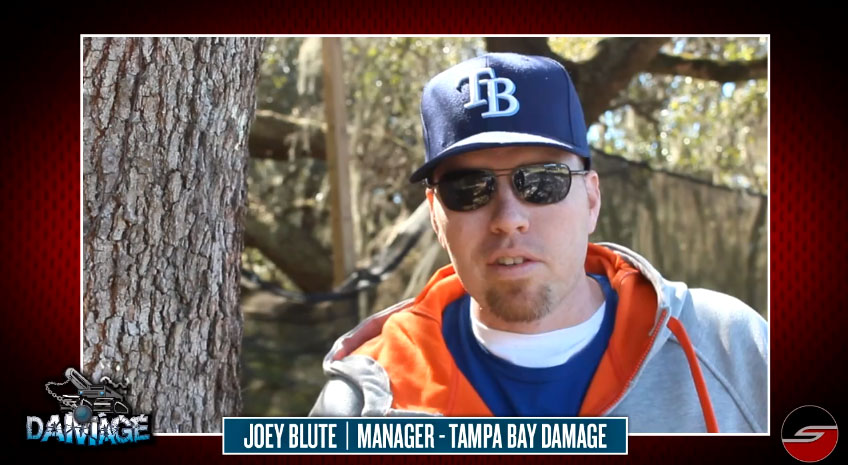 Tampa Bay Damage, Joey Blute, 2013 Preseason Update & Dye Sponsorship