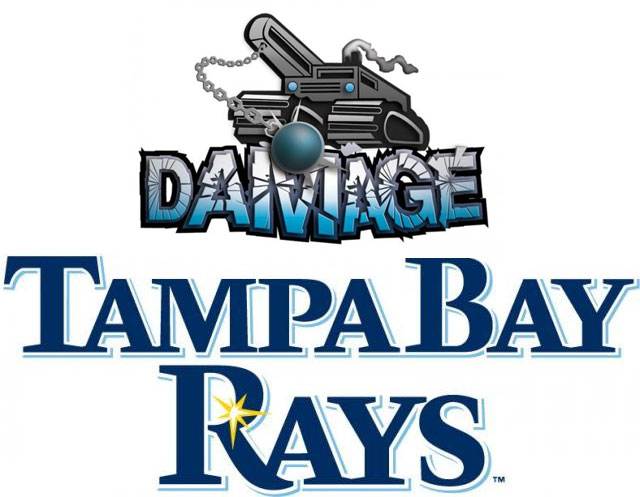 Tampa Bay Damage & Tampa Bay Rays Team Up to Host Paintball Showcase