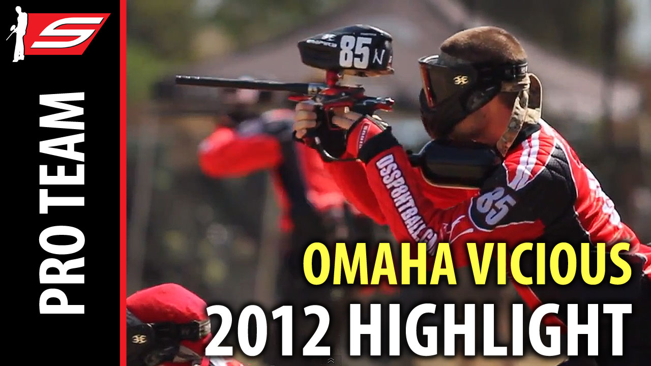 Video: Omaha Vicious 2012 Paintball Season Highlights