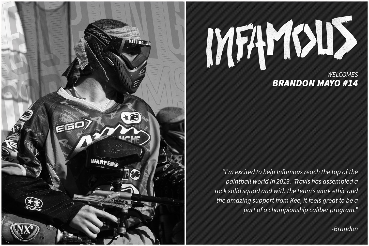 Brandon Mayo Joins LA Infamous