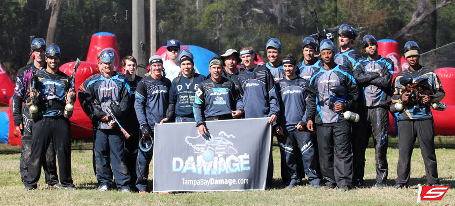 Tampa Bay Rays Play Paintball with Damage (Video)