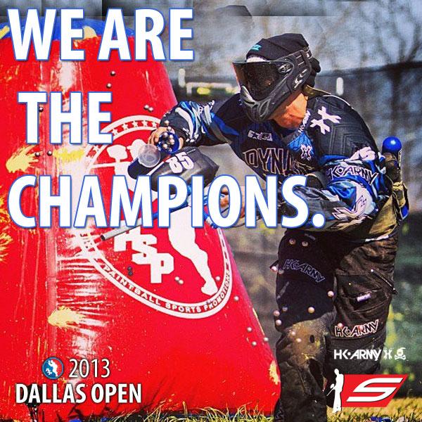 San Diego Dynasty Wins the 2013 PSP Dallas Open!