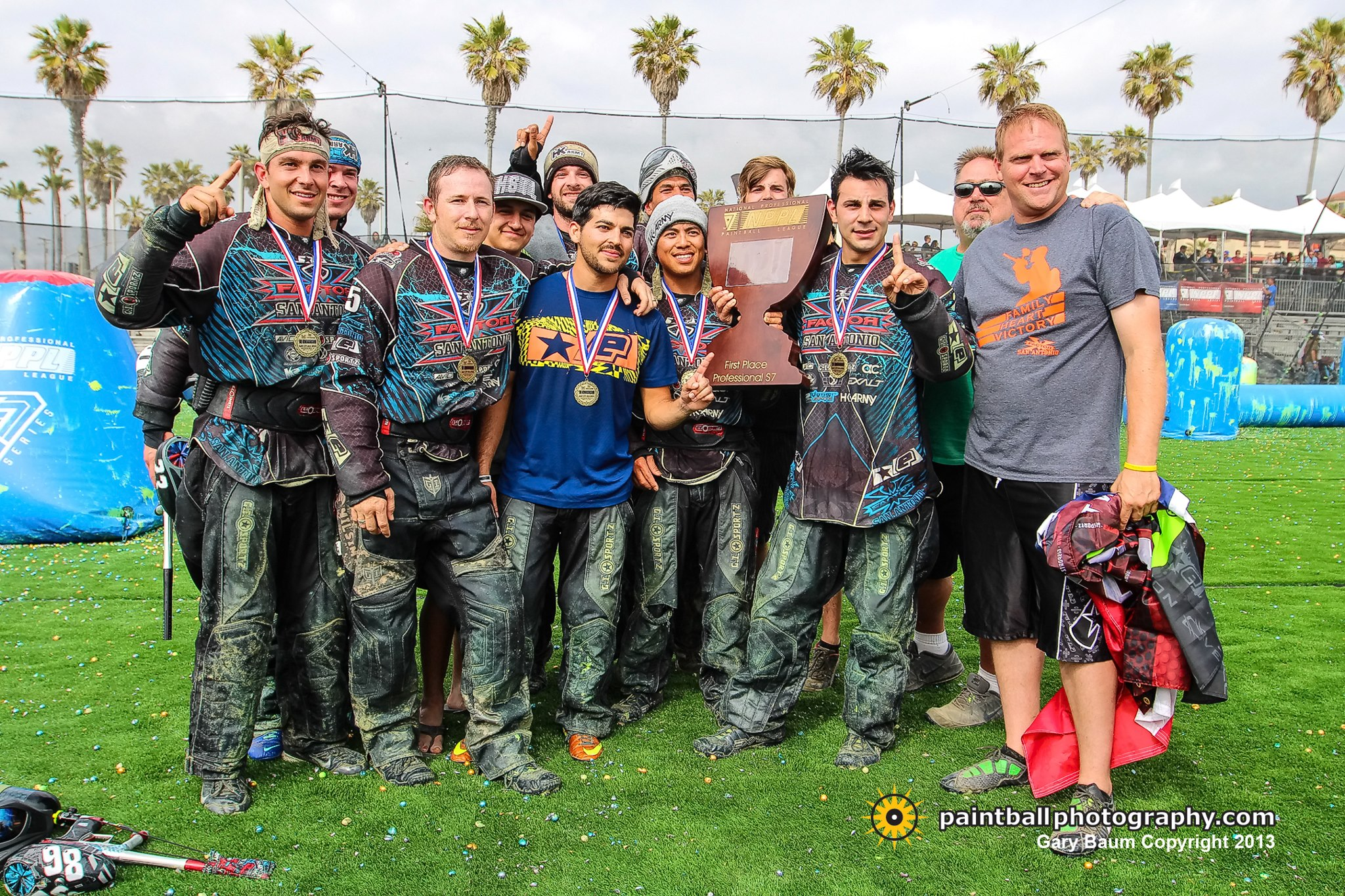 San Antonio X-Factor Takes 1st Place in the NPPL Surf City USA Open at Huntington Beach
