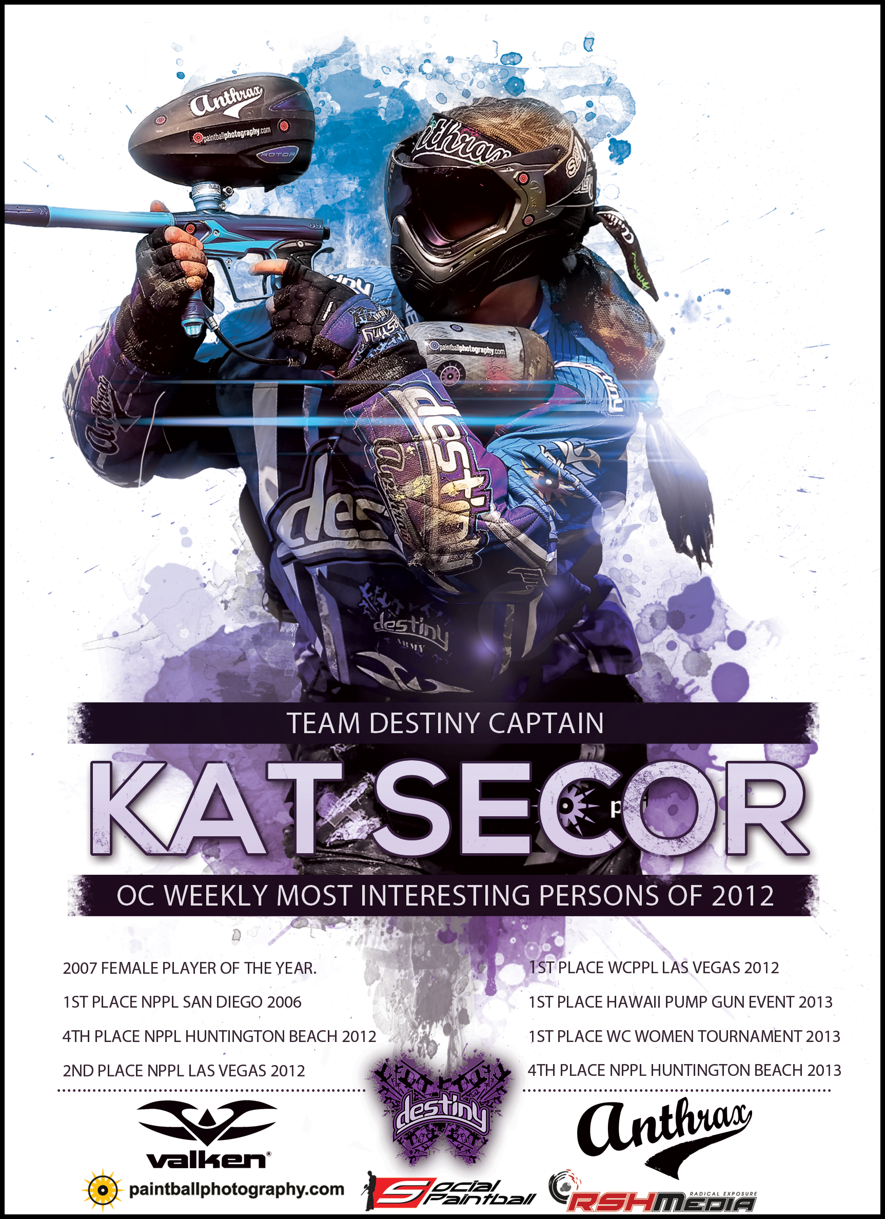 Destiny's Kat Secor Drafted by UK's Stoke Quest A.D.