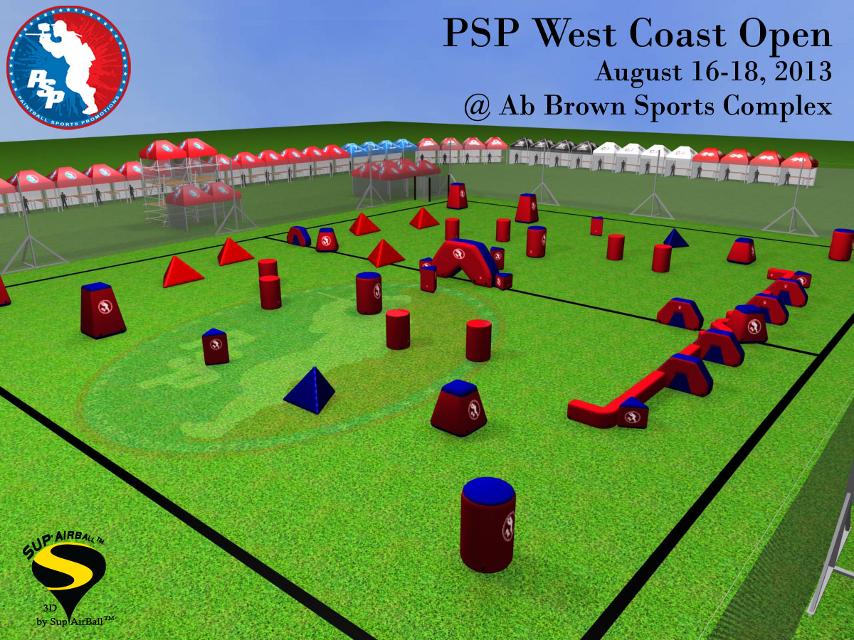 2013 PSP West Coast Open Field Layout Released