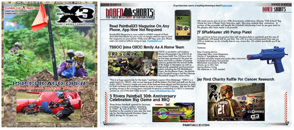 PaintballX3 Magazine, July 2013 Issue is Live