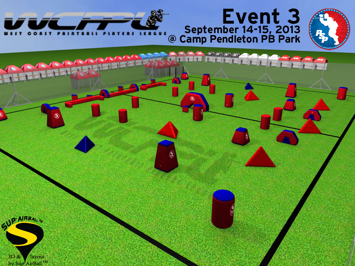 2013 WCPPL Event 3 Field Layout Released