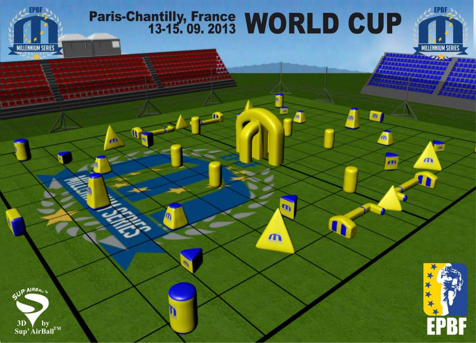 2013 Millennium Series EPBF Paris World Cup Field Layout Released