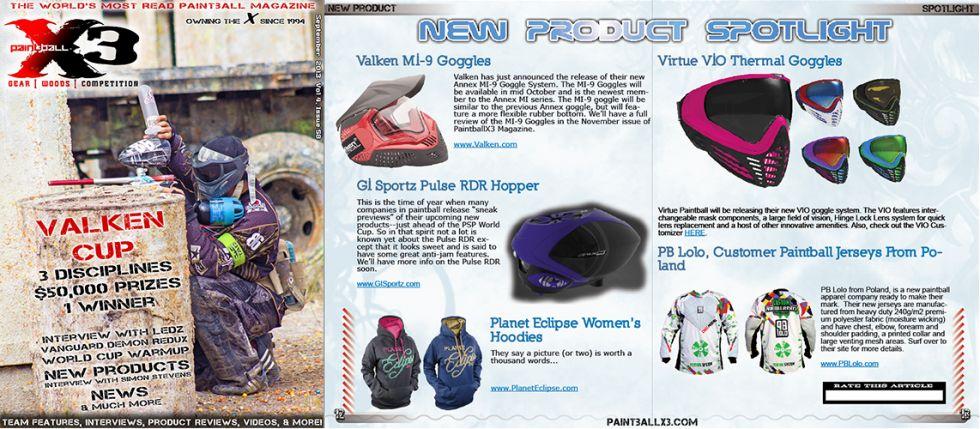 PaintballX3 Magazine, September 2013 Issue is Live