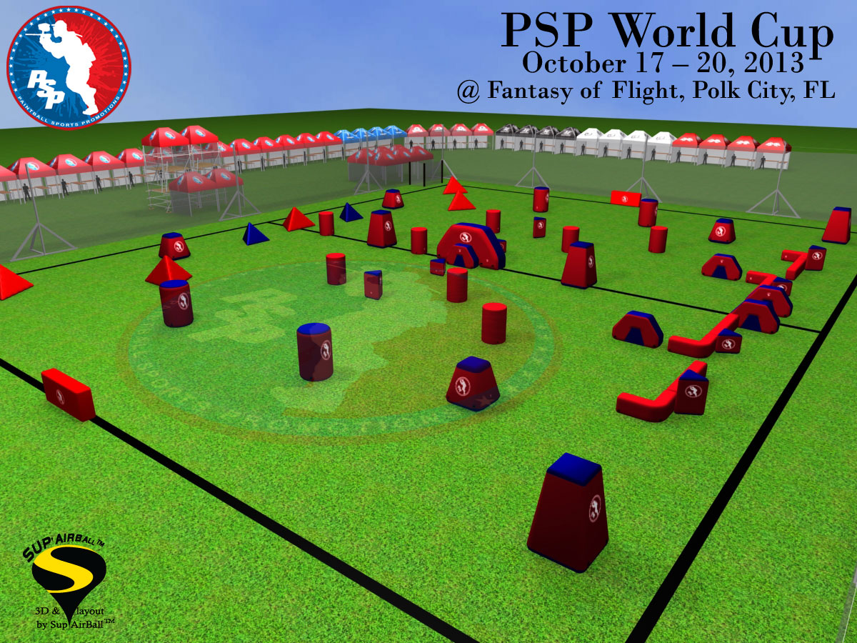 2013 PSP World Cup Field Layout Released