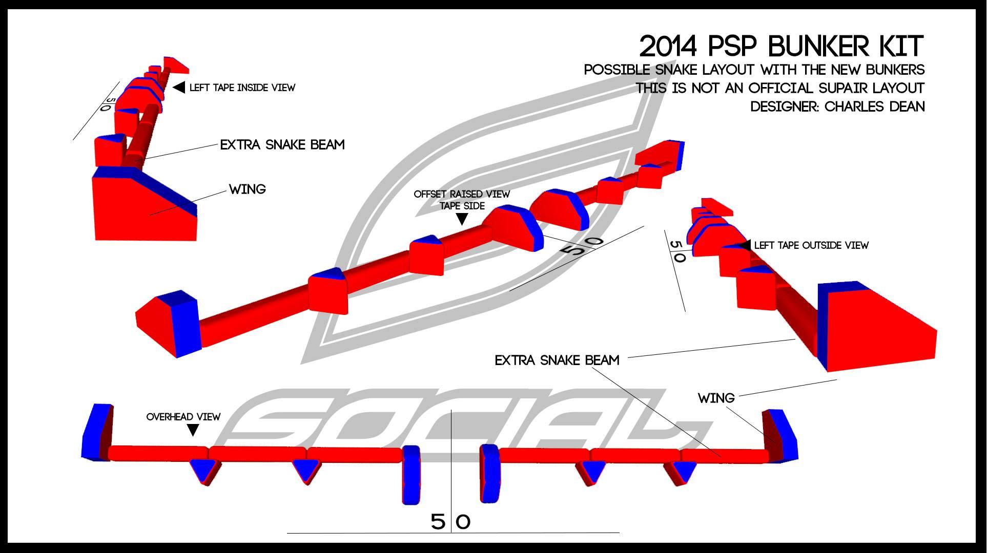 2014 PSP Bunker Kit Example Snake Design