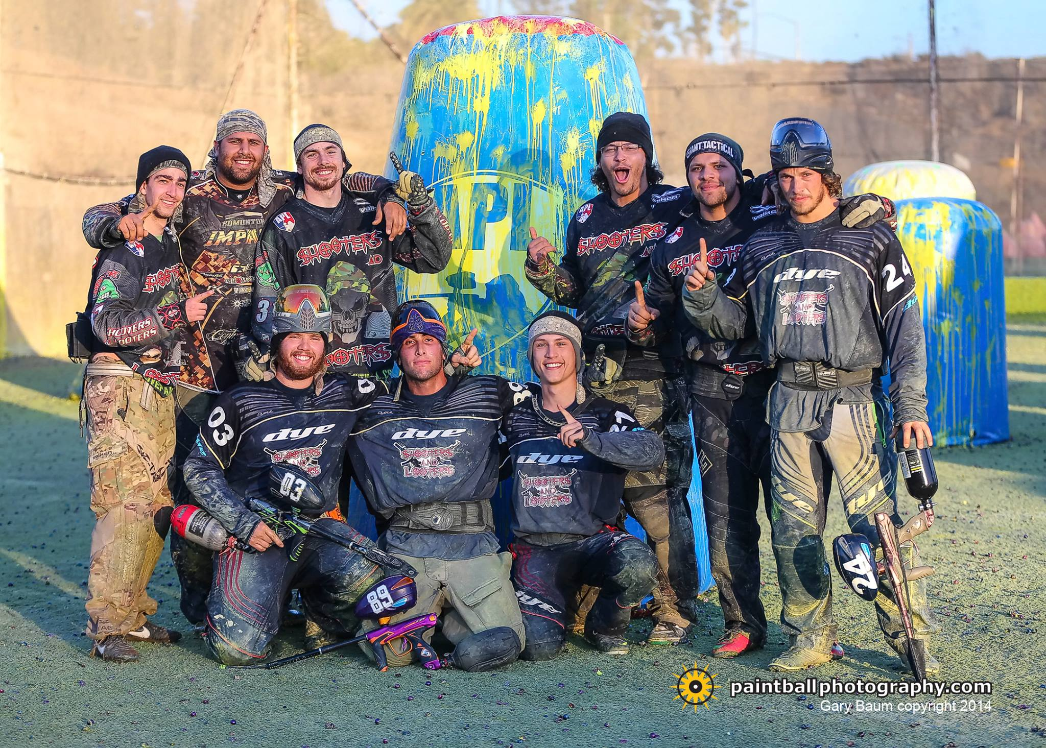 American Paintball League (APL) SoCal Open, Sunday Recap