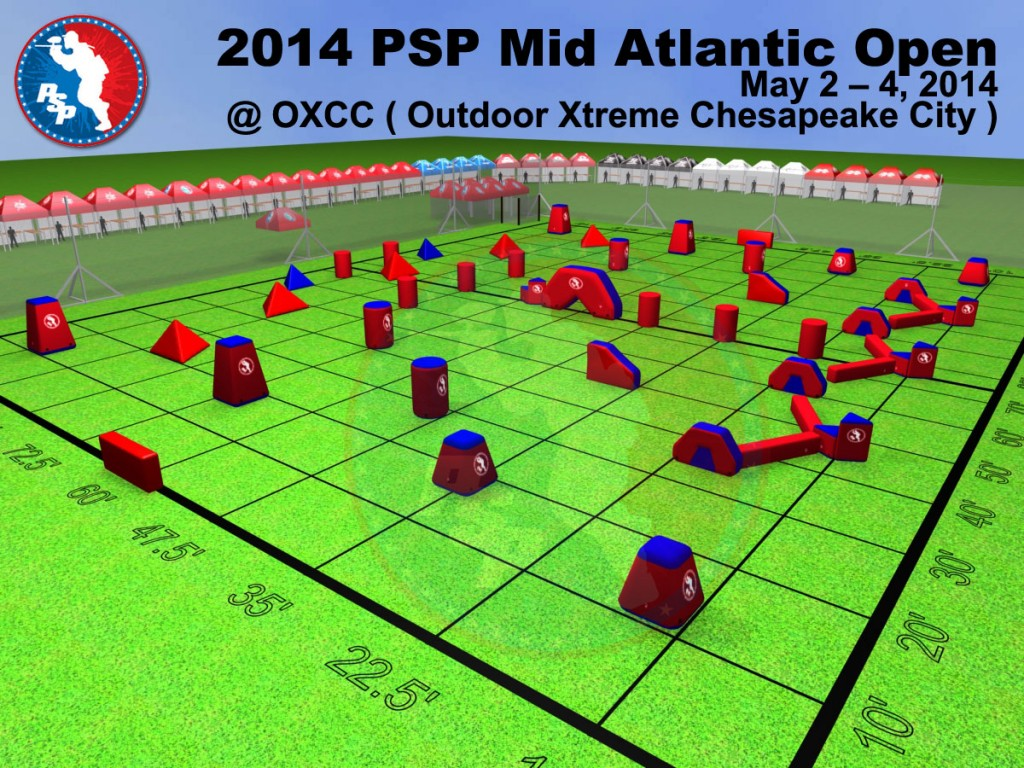 2014 PSP Mid-Atlantic Open Field Layout