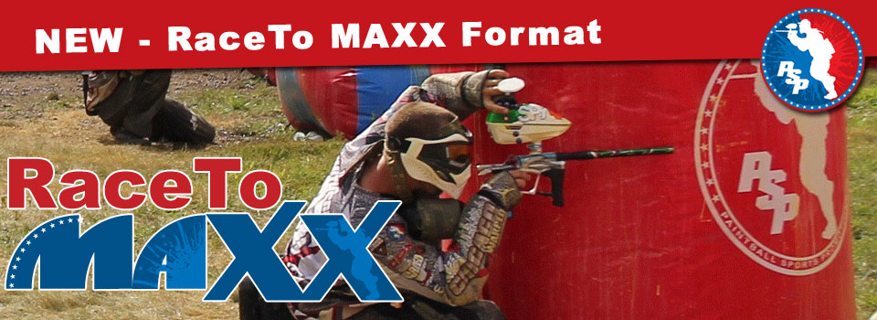 PSP RaceTo MAXX, New Paintball Format for D3 & D4 RaceTo-4