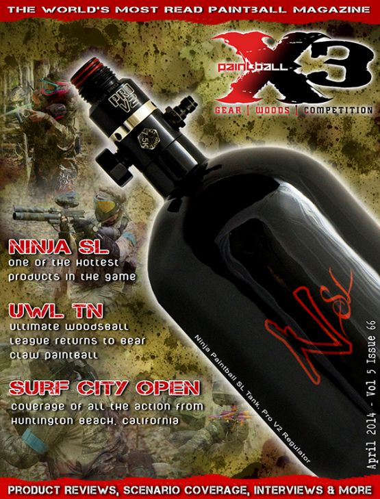 Paintball X3 Magazine, April 2014 Issue is Live