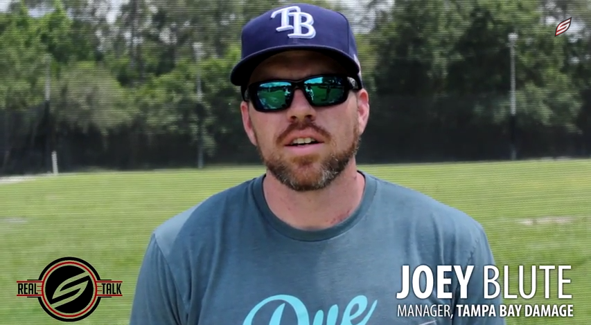 Real Talk With Joey Blute of Tampa Bay Damage