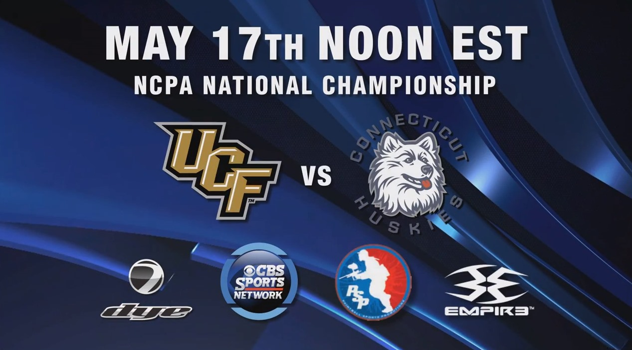 2014 NCPA College Paintball National Championship Airing on CBS Sports Network TV