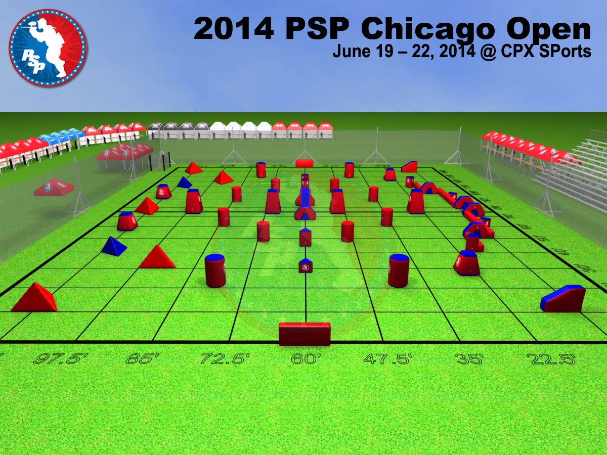 2014 PSP Chicago Open Field Layout