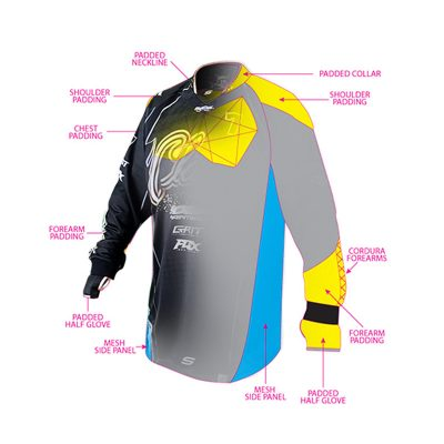 Social Paintball Custom Jersey Design