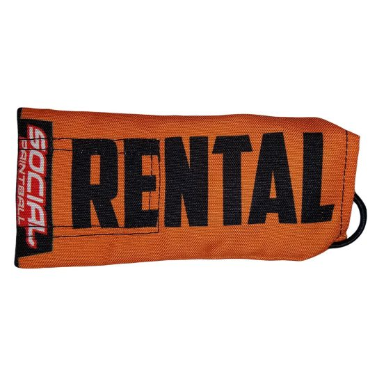 social paintball barrel cover rental orange
