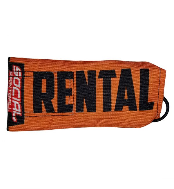 social paintball barrel cover rental orange